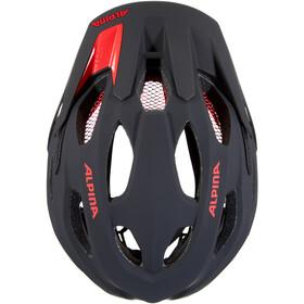 Alpina Carapax 2.0 Casco, black-red